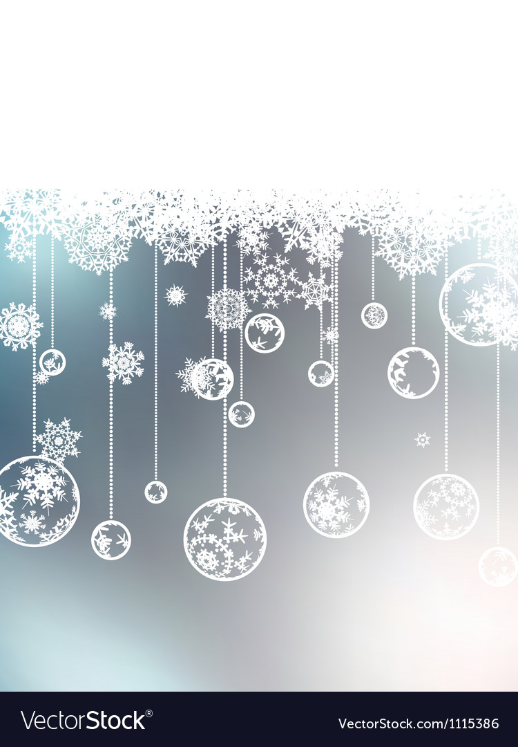 Christmas background with copyspace eps 8 vector | Price: 1 Credit (USD $1)