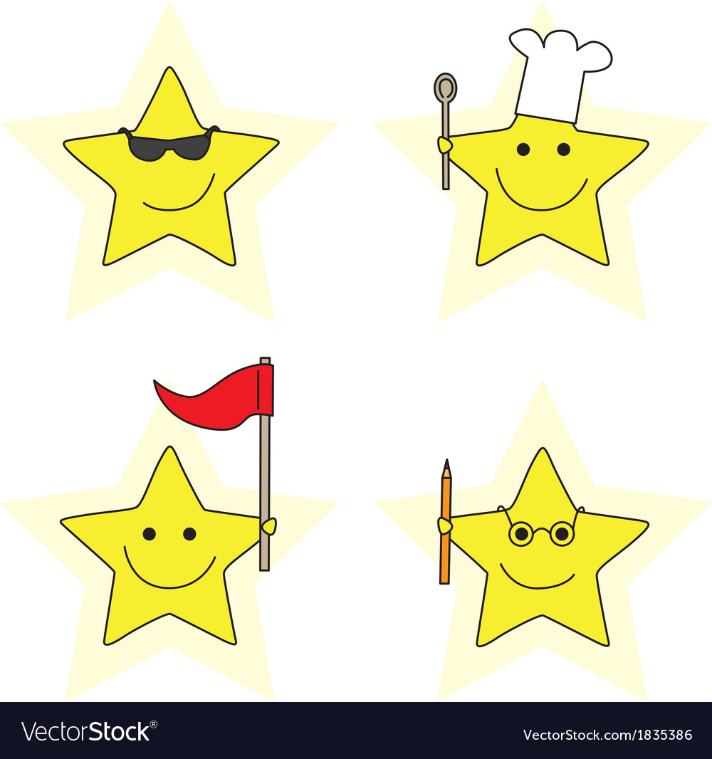 Little stars vector | Price: 1 Credit (USD $1)
