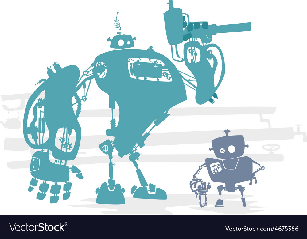 Robot identification vector | Price: 1 Credit (USD $1)