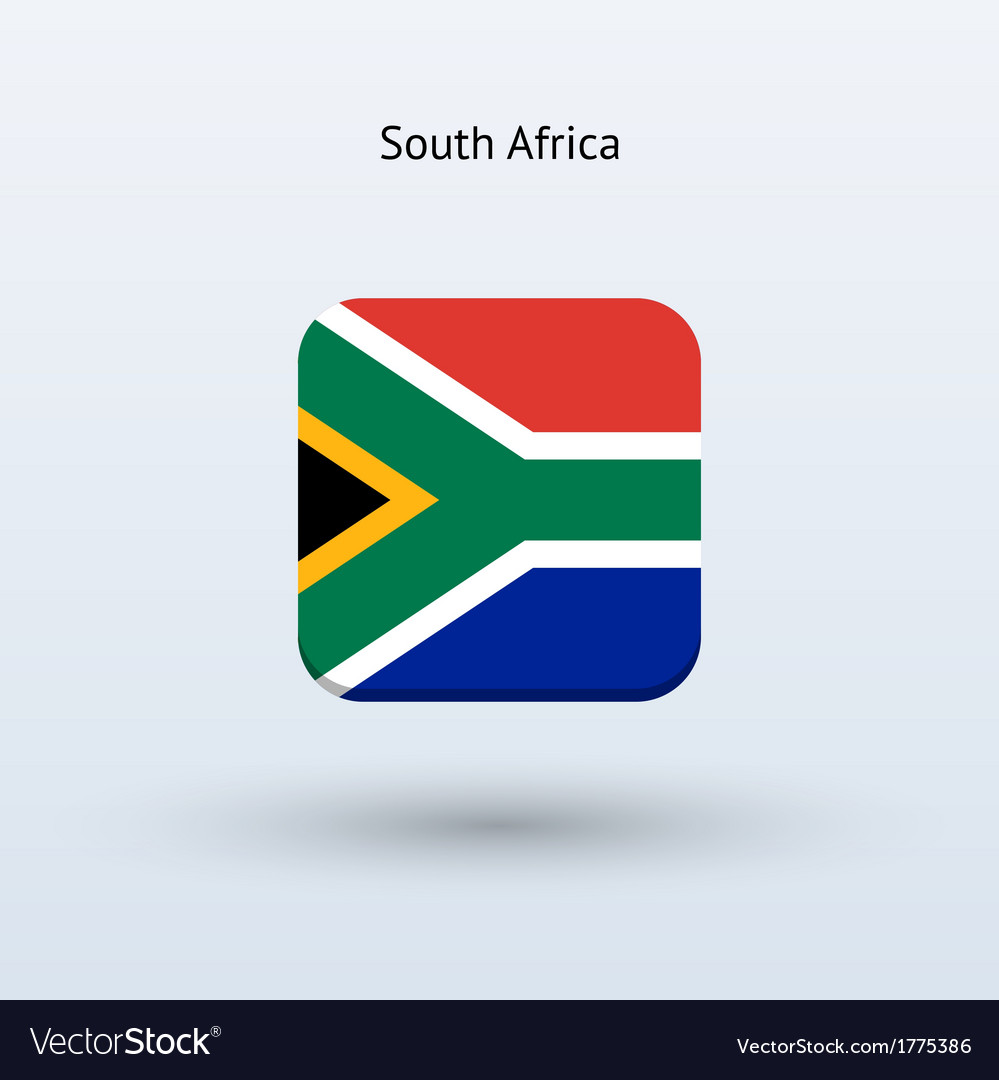 South africa flag icon vector | Price: 1 Credit (USD $1)