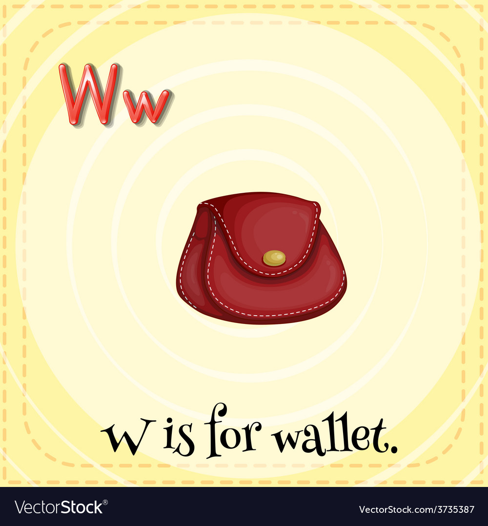 Letter w vector   Price: 1 Credit (USD $1)