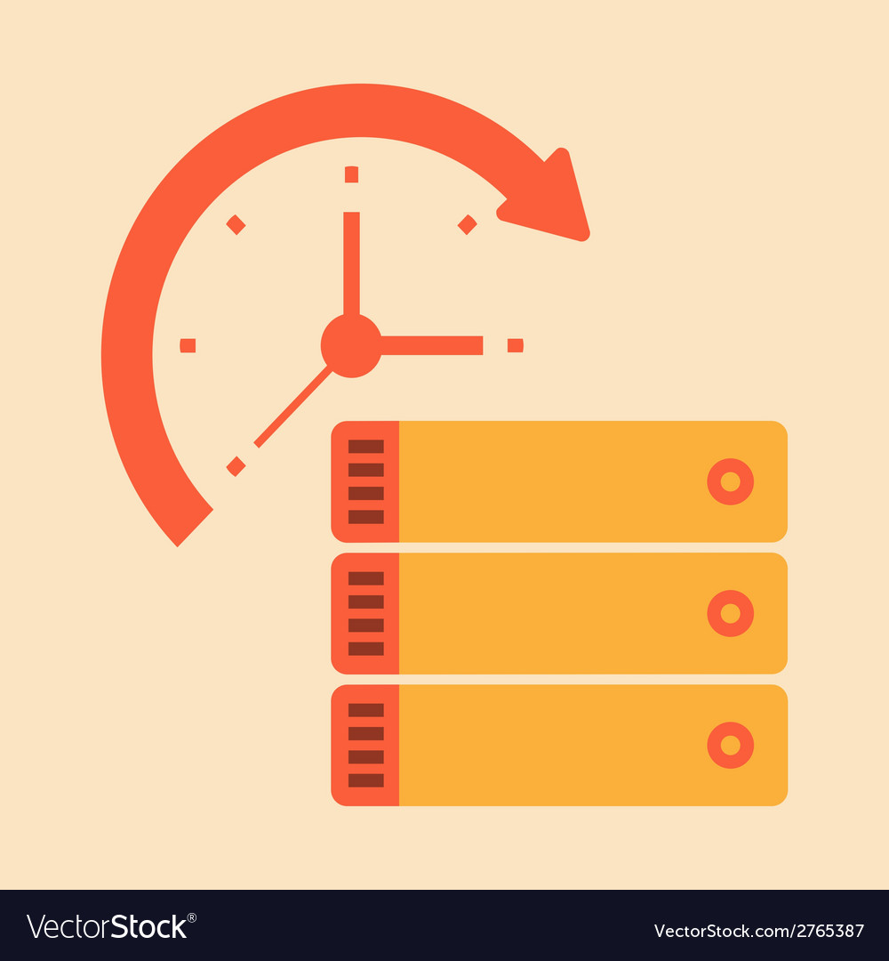 Time document and paper work vector | Price: 1 Credit (USD $1)