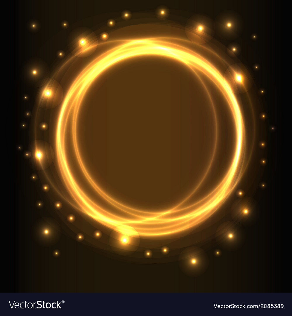 Abstract background glowing circles vector | Price: 1 Credit (USD $1)