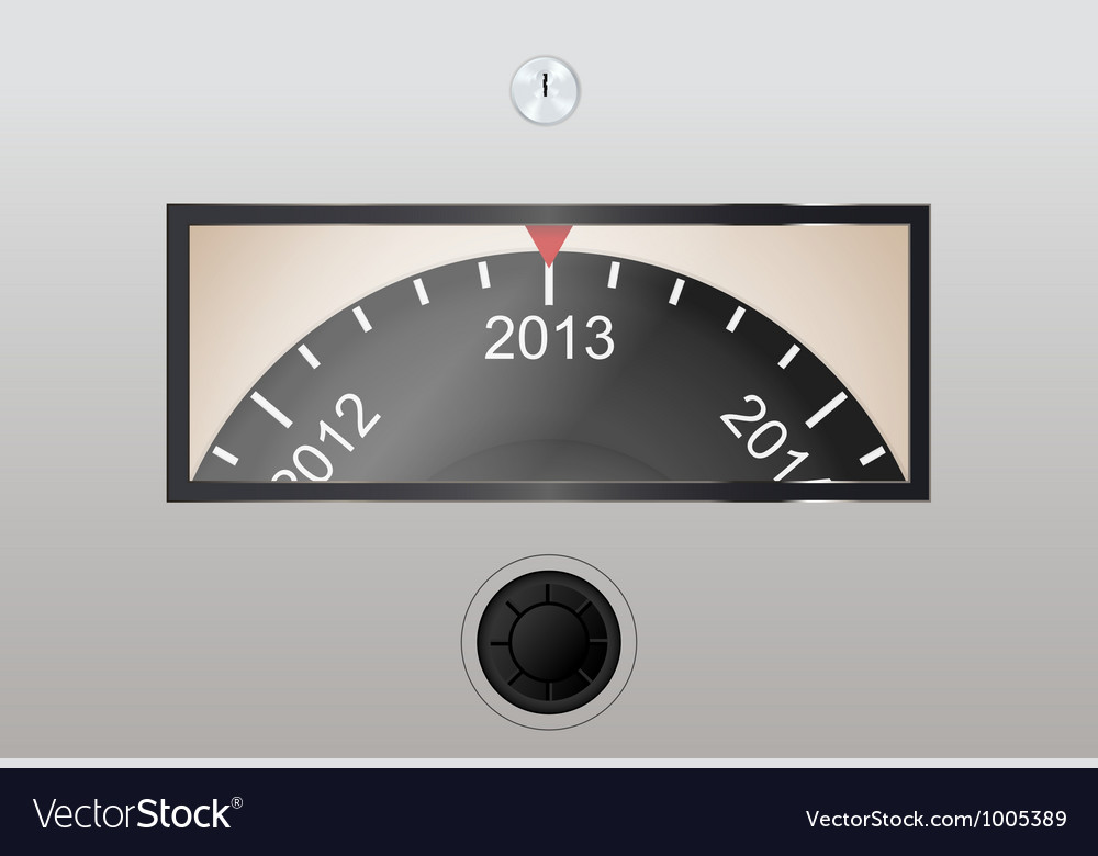 Circle counter in year counting vector | Price: 1 Credit (USD $1)