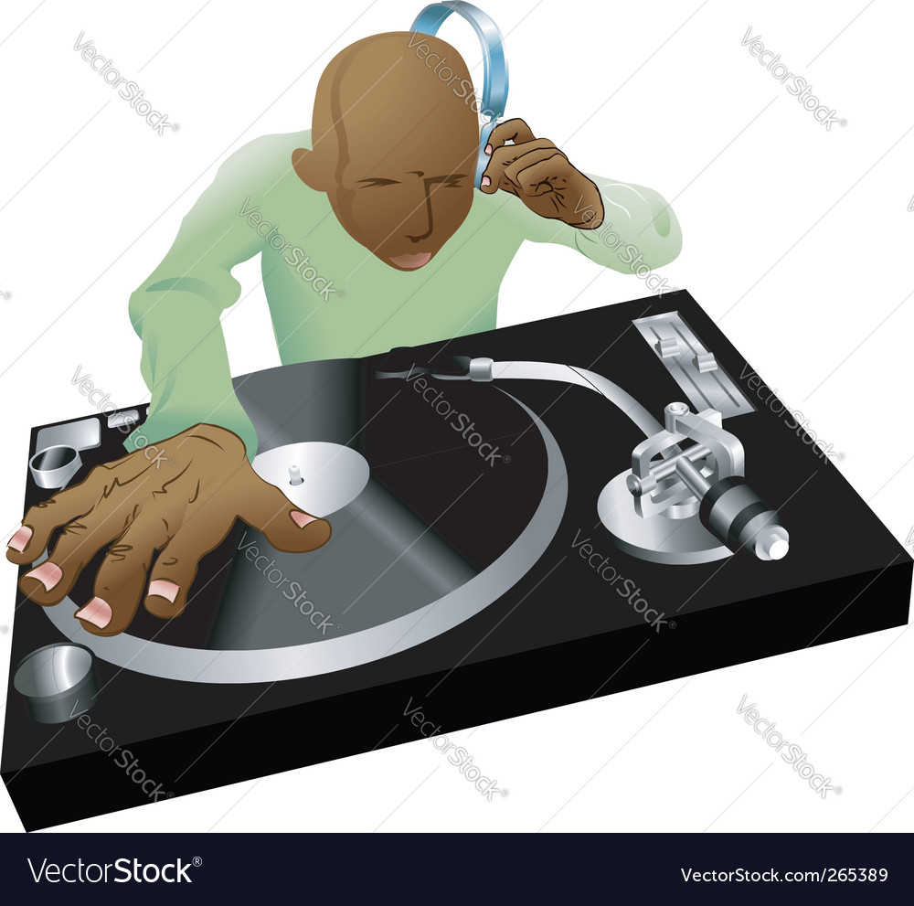 Deejay mixing vector | Price: 3 Credit (USD $3)