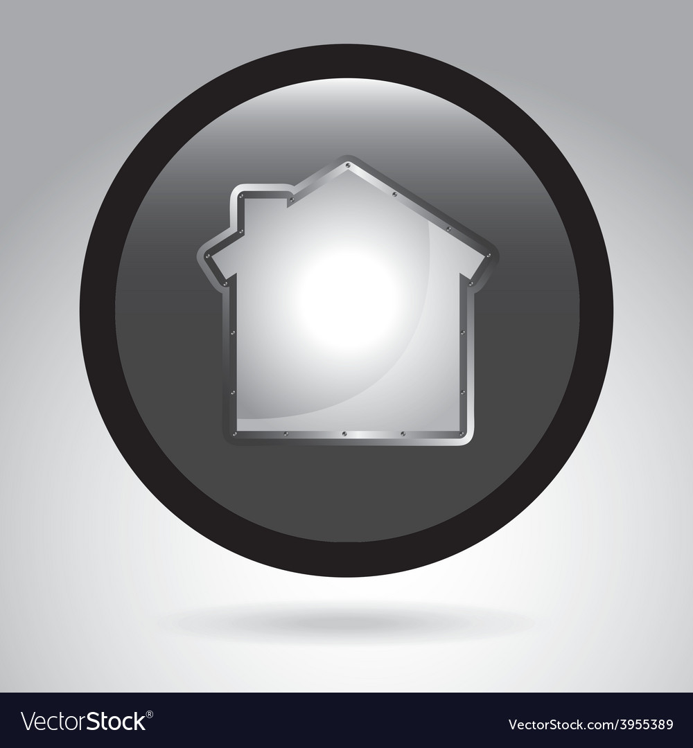House button vector | Price: 1 Credit (USD $1)