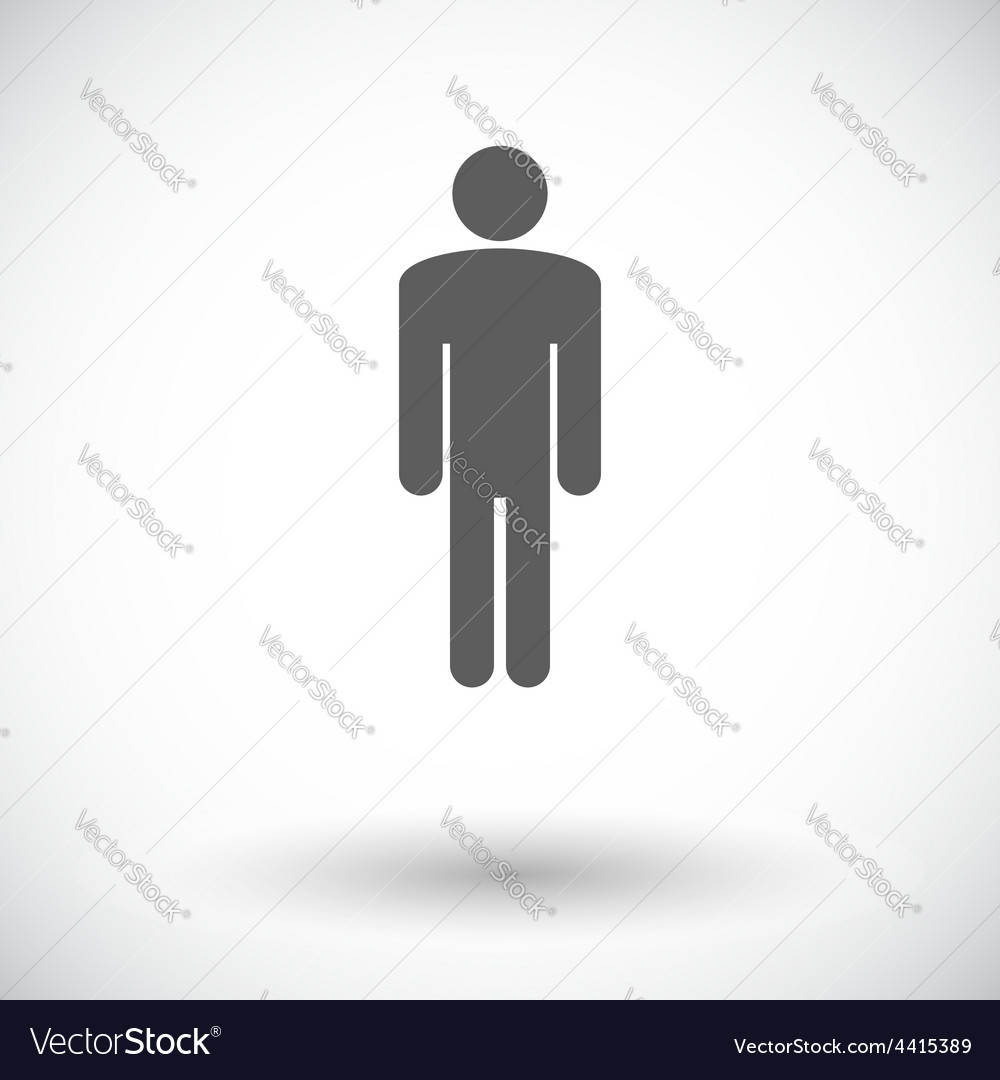 Male gender sign vector | Price: 1 Credit (USD $1)