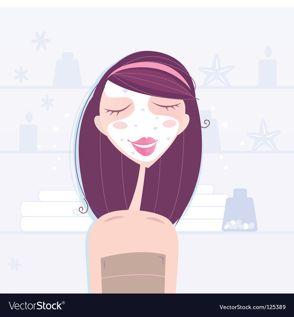 Skin care vector | Price: 1 Credit (USD $1)