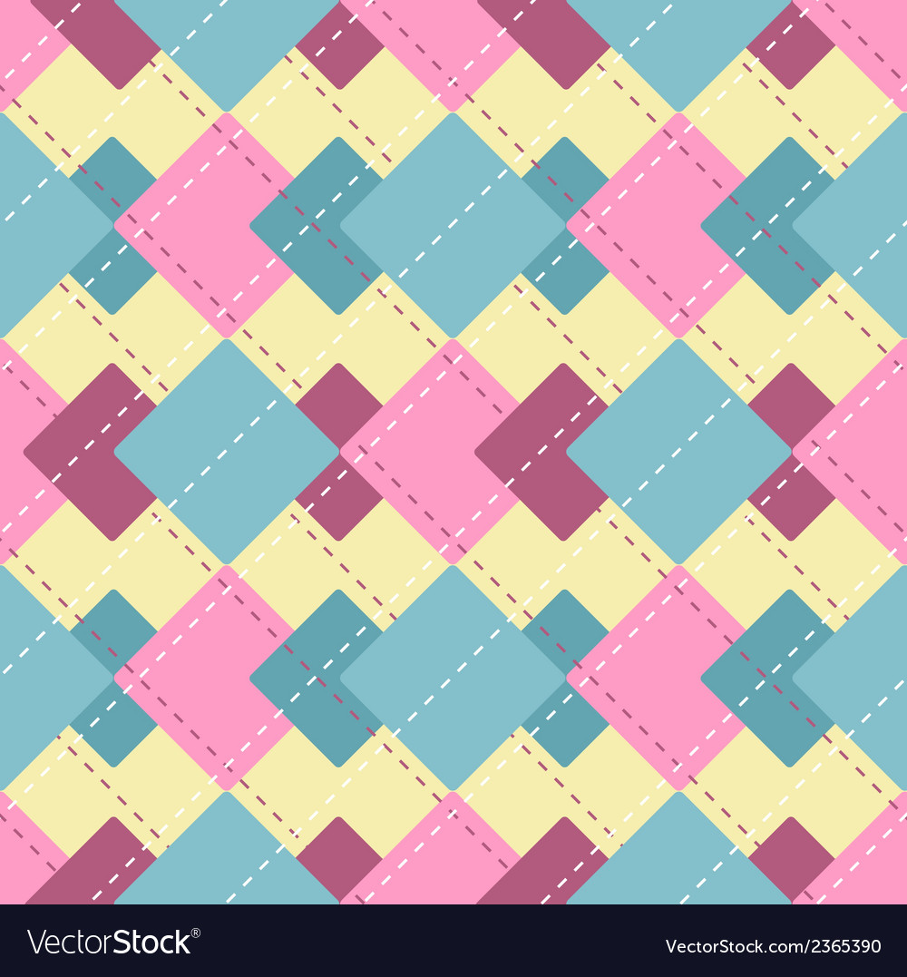 Abstract checkered pattern vector | Price: 1 Credit (USD $1)