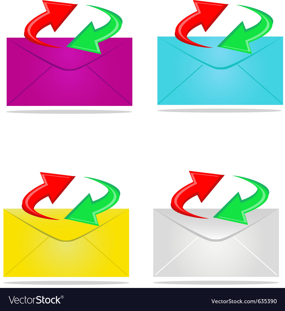 Sending mail vector | Price: 1 Credit (USD $1)