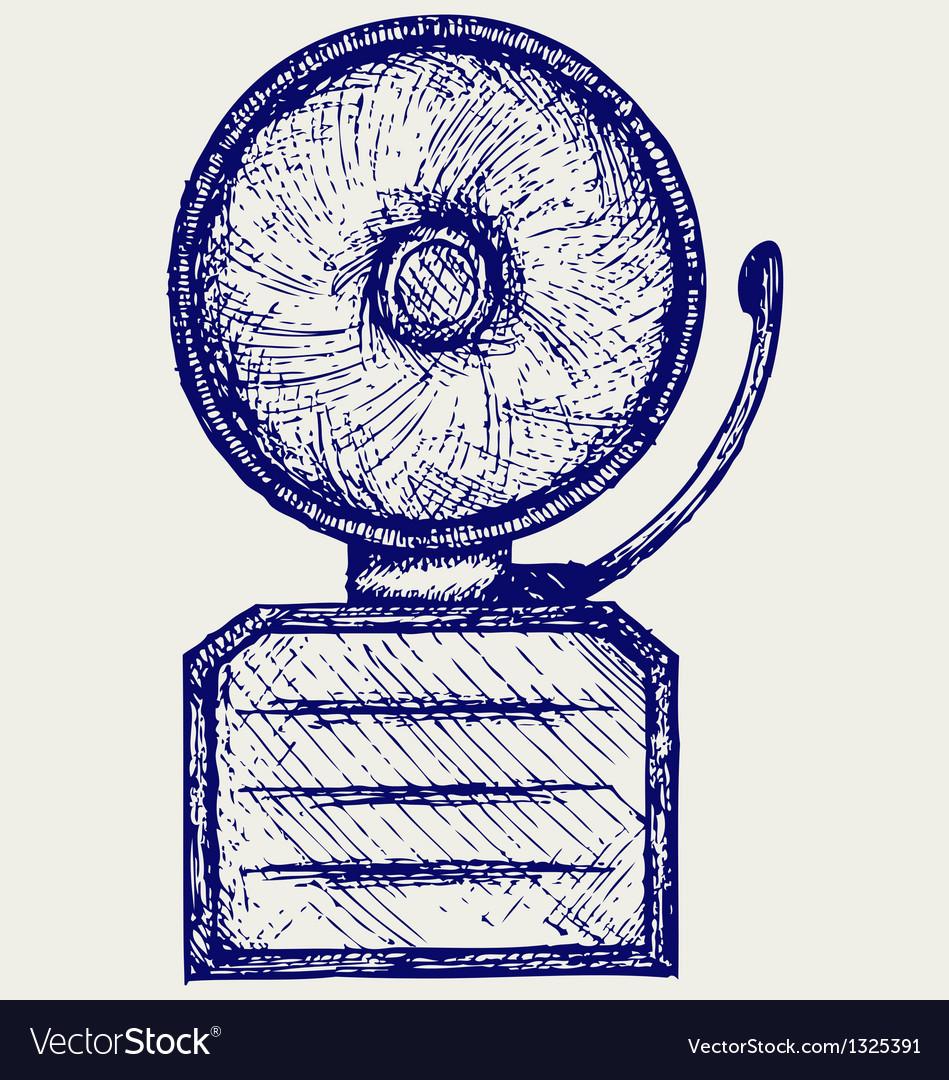 Alarm bell vector | Price: 1 Credit (USD $1)