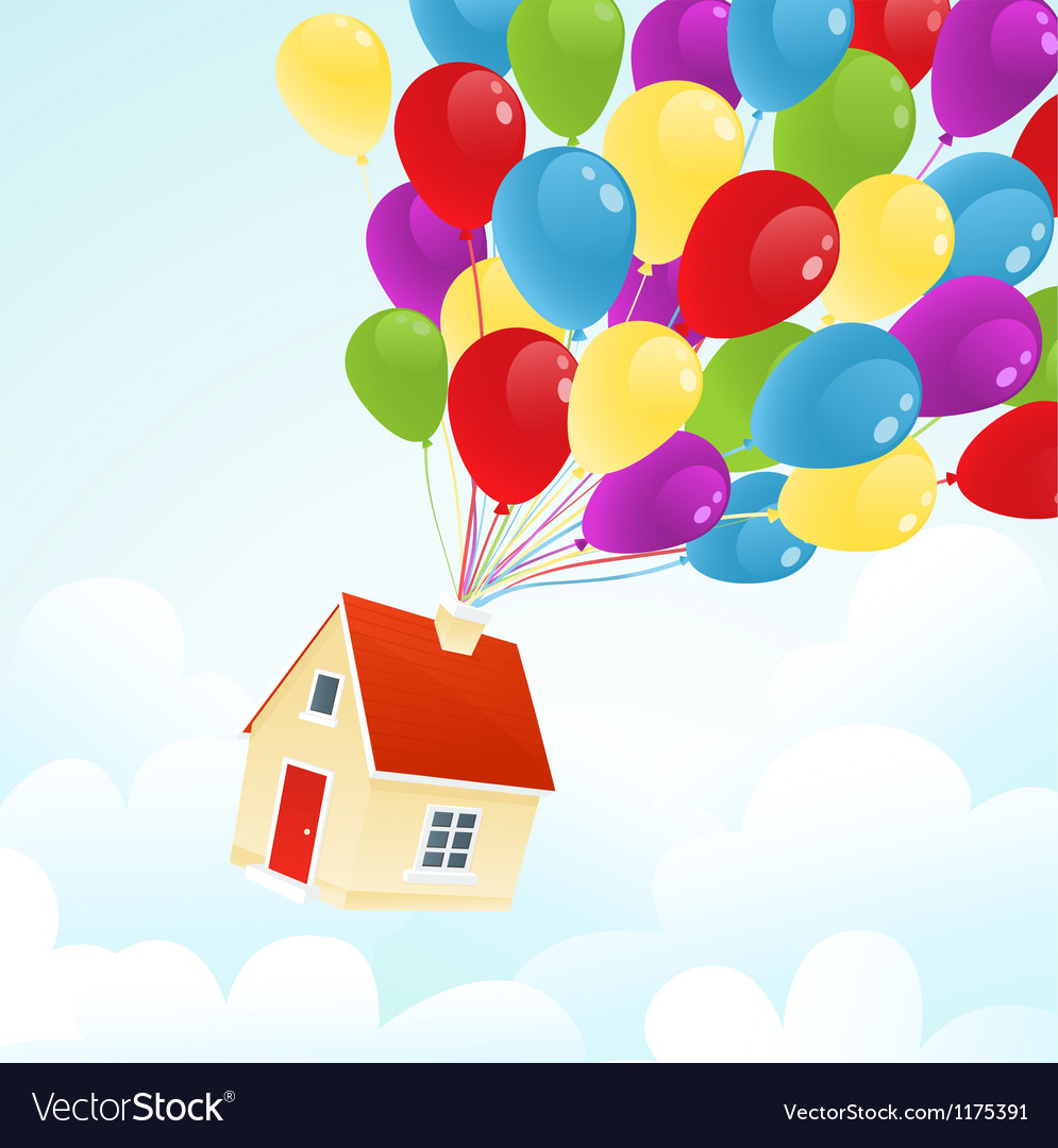 Party house vector | Price: 1 Credit (USD $1)