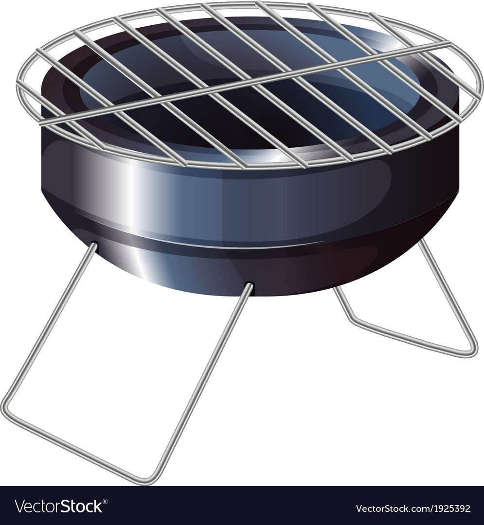 A barbeque grilling stove vector | Price: 1 Credit (USD $1)