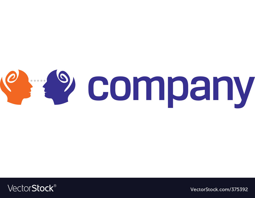 Human head logo for charity vector | Price: 1 Credit (USD $1)