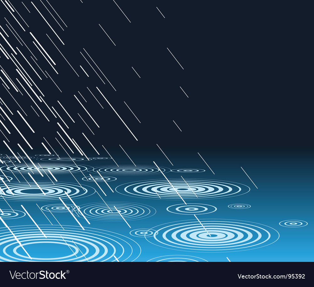 Rain pool vector | Price: 1 Credit (USD $1)