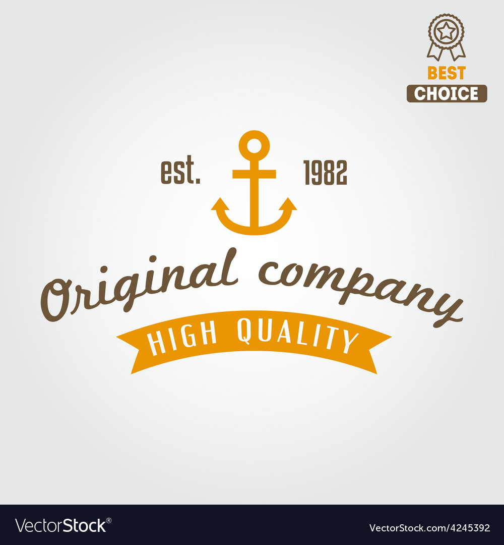 Retro vintage insignia logo for different shops vector | Price: 1 Credit (USD $1)
