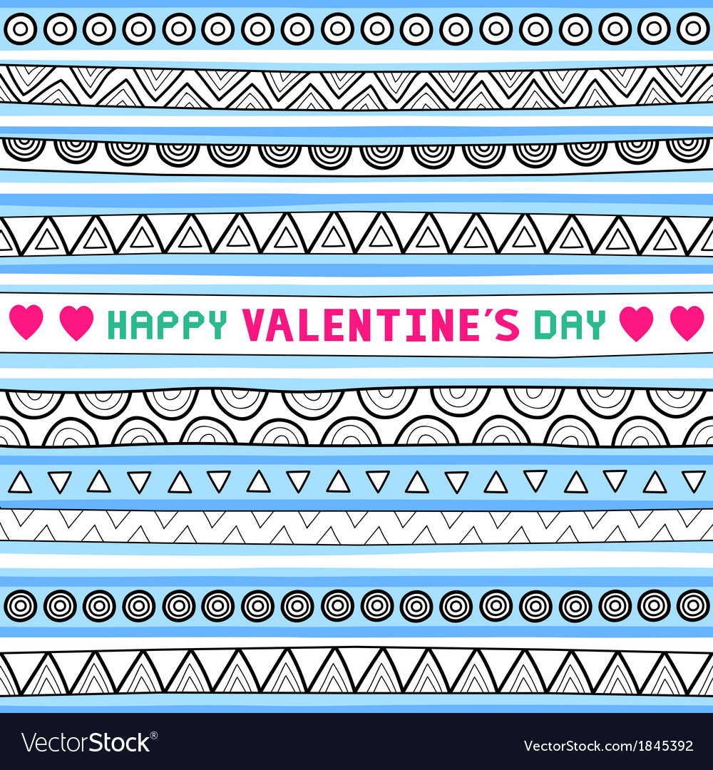 Seamless valentine card4 vector | Price: 1 Credit (USD $1)