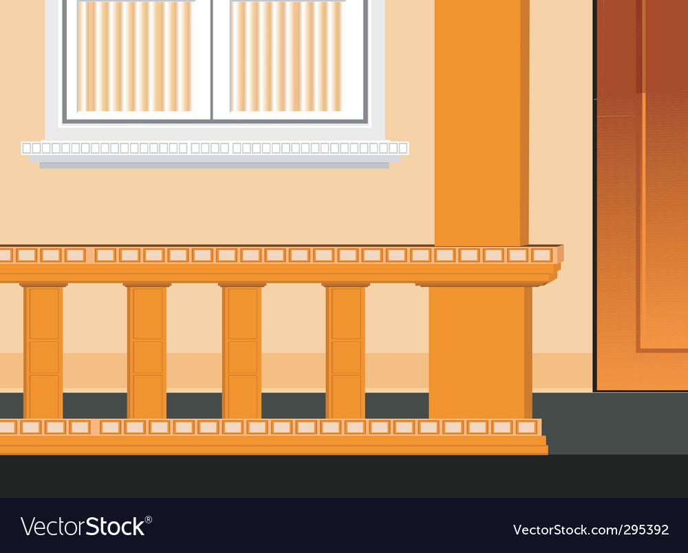 Veranda vector | Price: 1 Credit (USD $1)