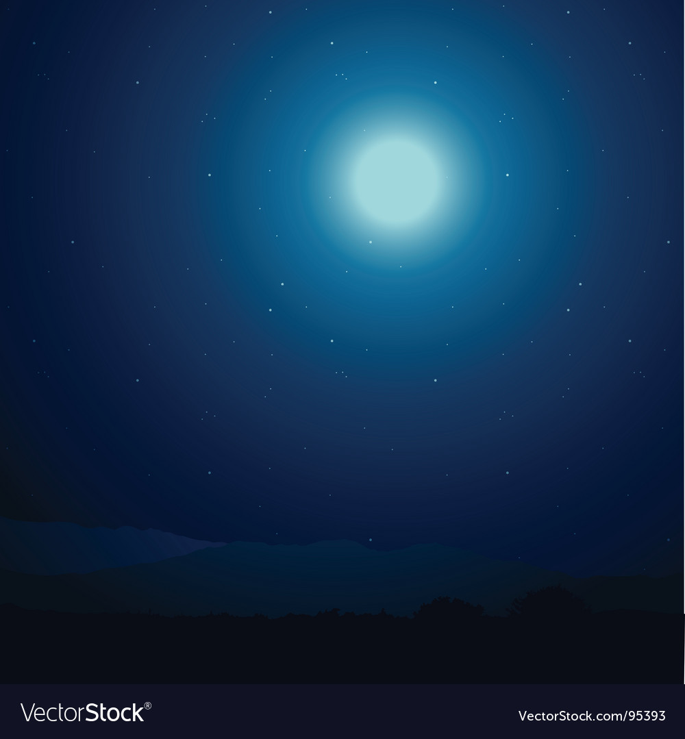 Night vector | Price: 1 Credit (USD $1)