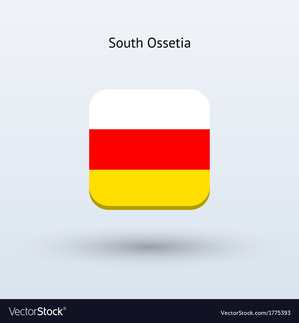 South ossetia flag icon vector | Price: 1 Credit (USD $1)