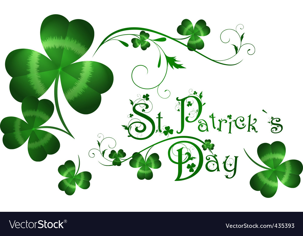St patrick's day vector | Price: 1 Credit (USD $1)