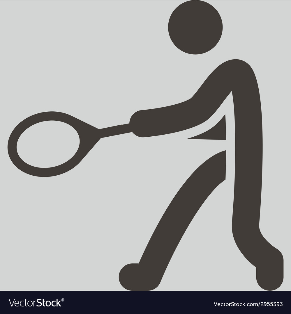 Tennis icon vector | Price: 1 Credit (USD $1)