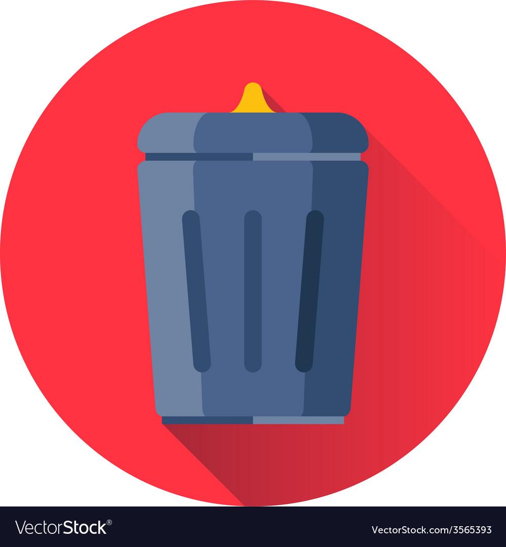 Trash can icon vector | Price: 1 Credit (USD $1)