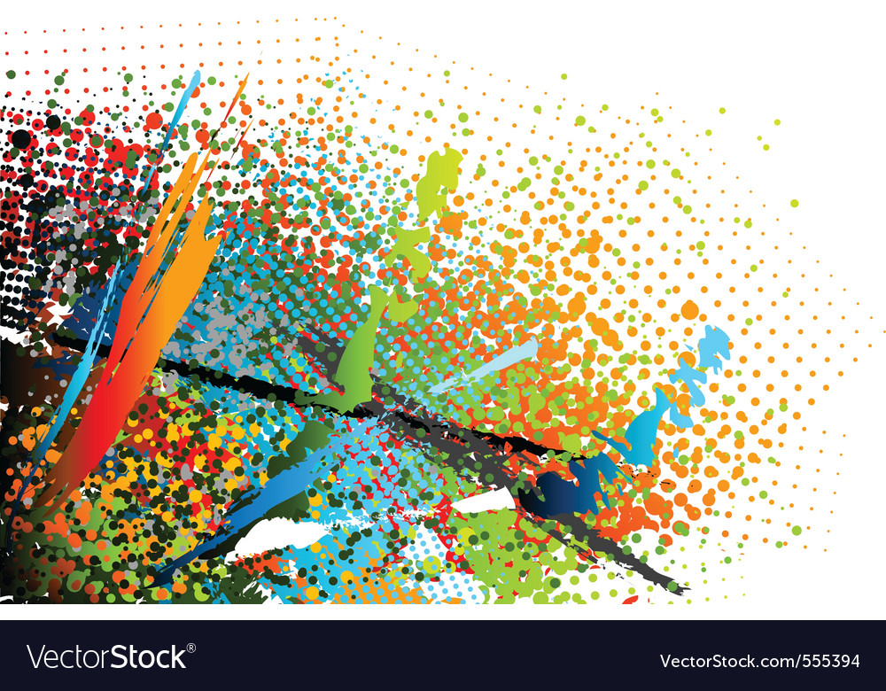 Abstract motley background vector | Price: 1 Credit (USD $1)