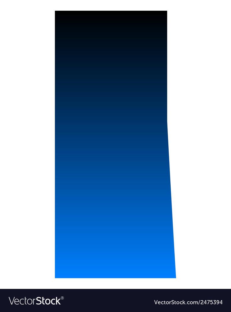 Map of saskatchewan vector | Price: 1 Credit (USD $1)