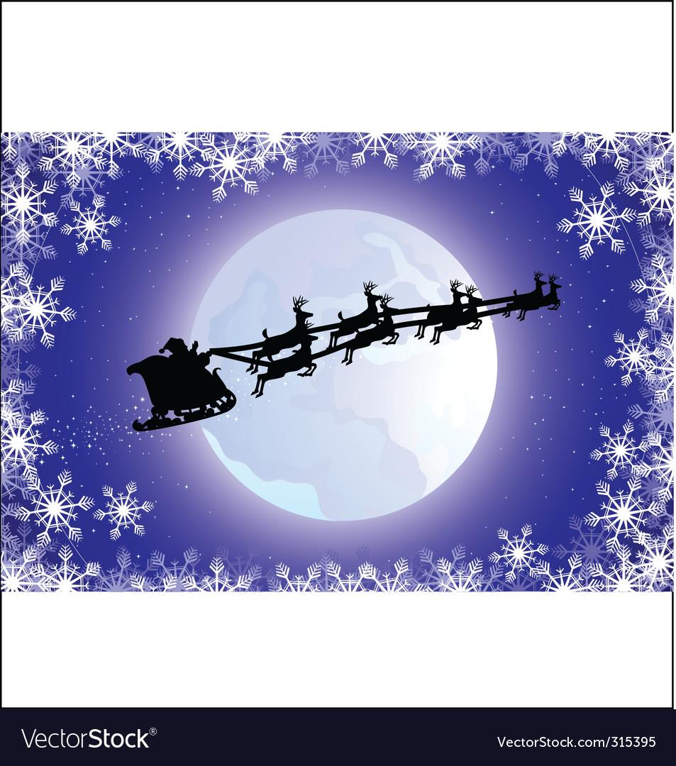 Santa's sled vector   Price: 1 Credit (USD $1)