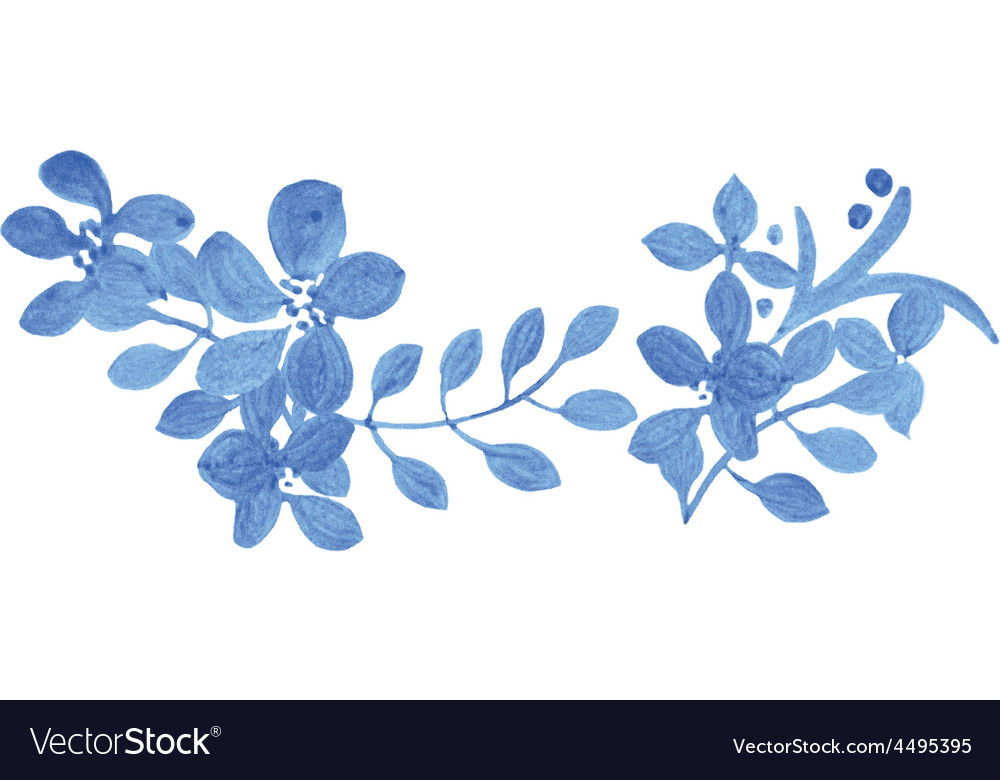 Set of abstract tradition watercolor vector | Price: 1 Credit (USD $1)