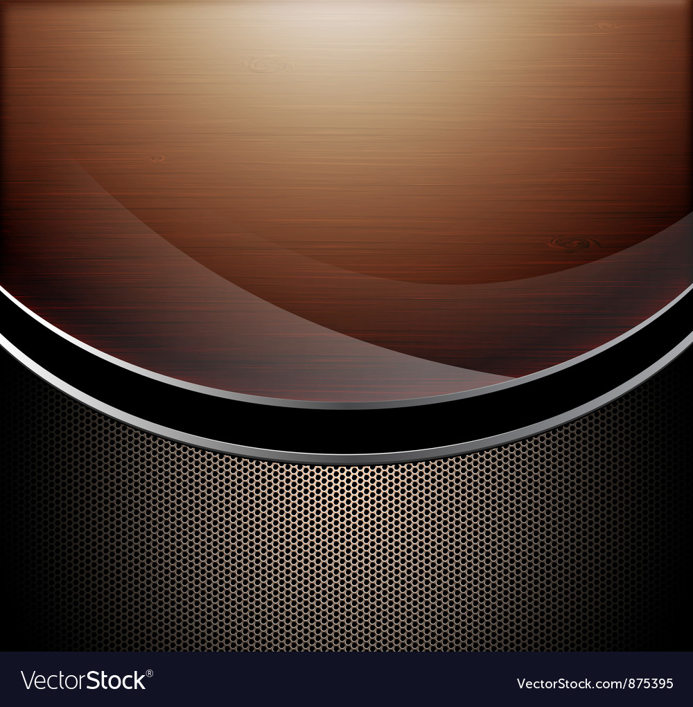 Wooden polished background vector | Price: 1 Credit (USD $1)