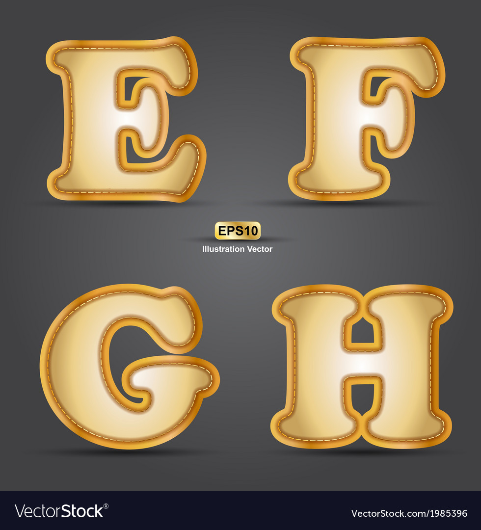 Efgh vector | Price: 1 Credit (USD $1)