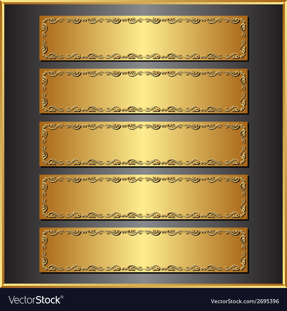 Five banners vector   Price: 1 Credit (USD $1)