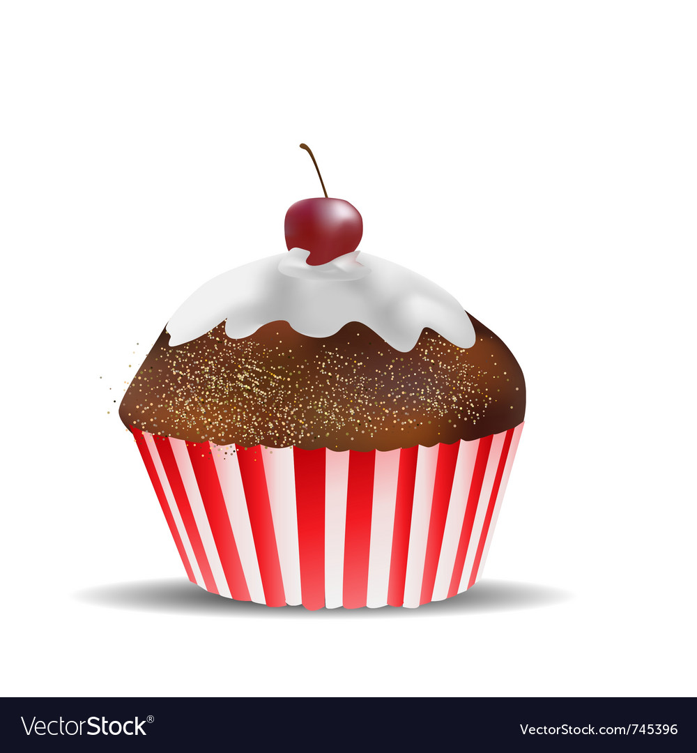 Muffin object vector | Price: 1 Credit (USD $1)