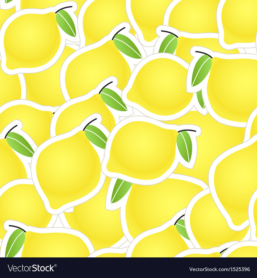 Yellow citrus seamless background vector   Price: 1 Credit (USD $1)