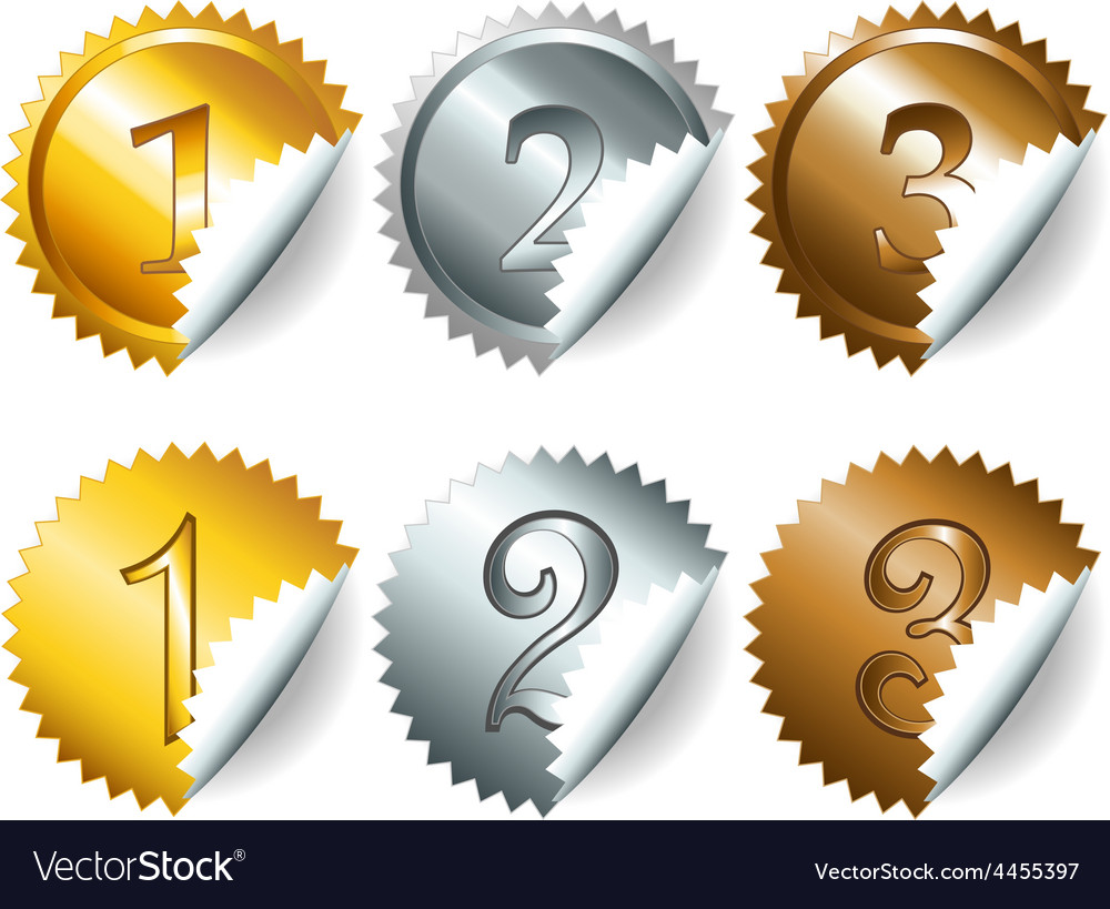 Games medals or labels-set3 vector   Price: 1 Credit (USD $1)