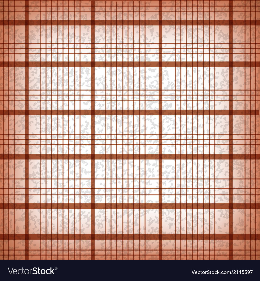 Seamless classic brown plaid vector   Price: 1 Credit (USD $1)