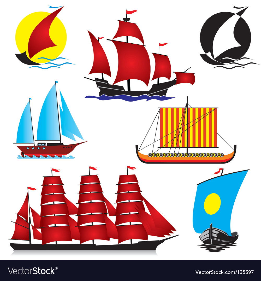 Ships vector | Price: 3 Credit (USD $3)