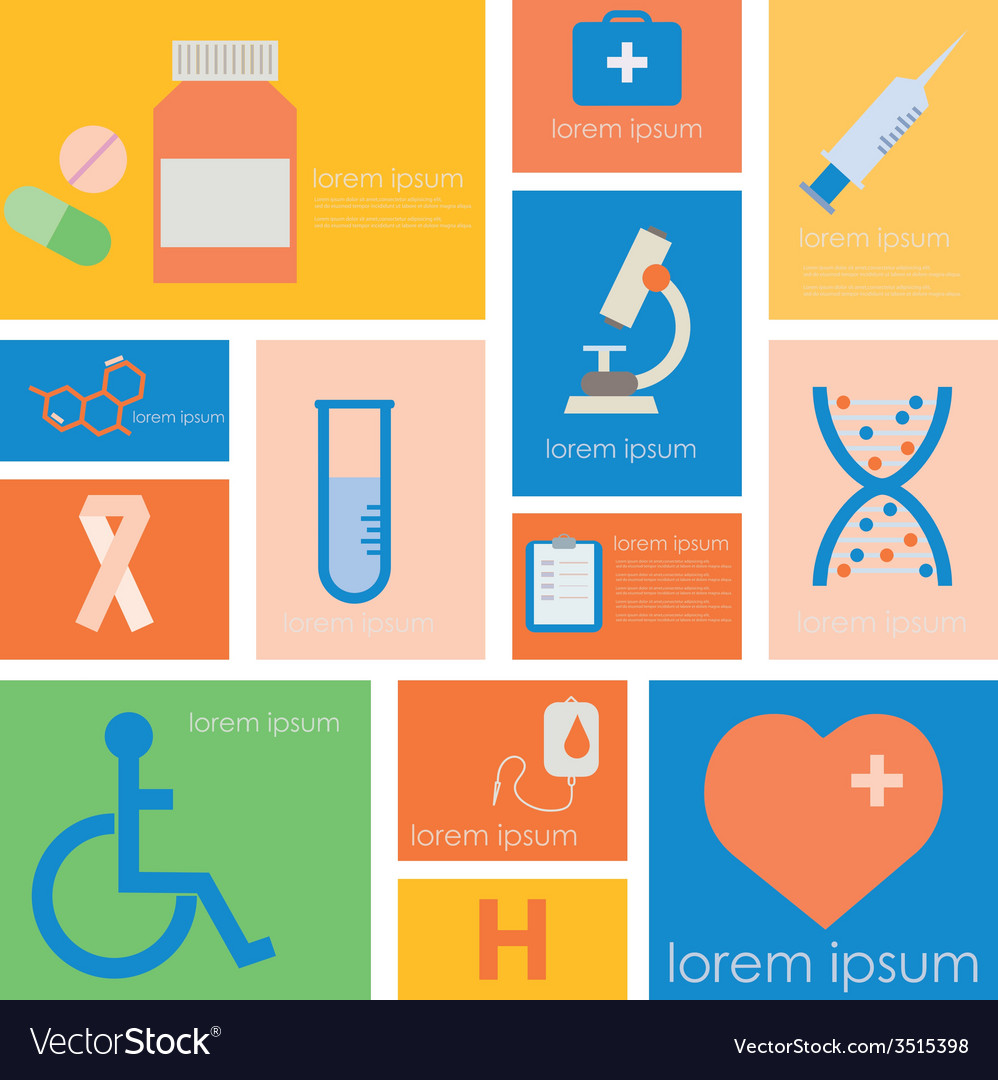 Icon hospital medical science vector | Price: 1 Credit (USD $1)
