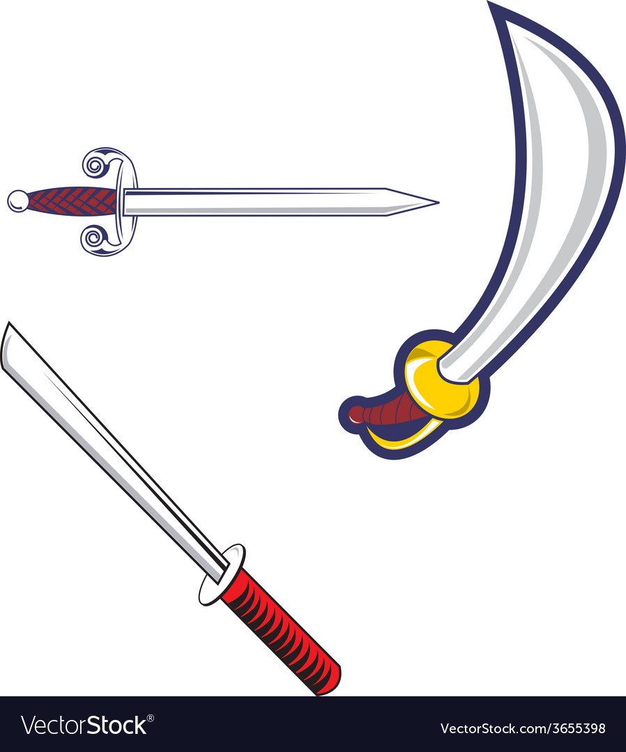Swords vector | Price: 1 Credit (USD $1)