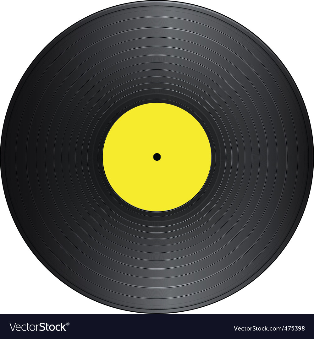 Vintage vinyl vector | Price: 1 Credit (USD $1)