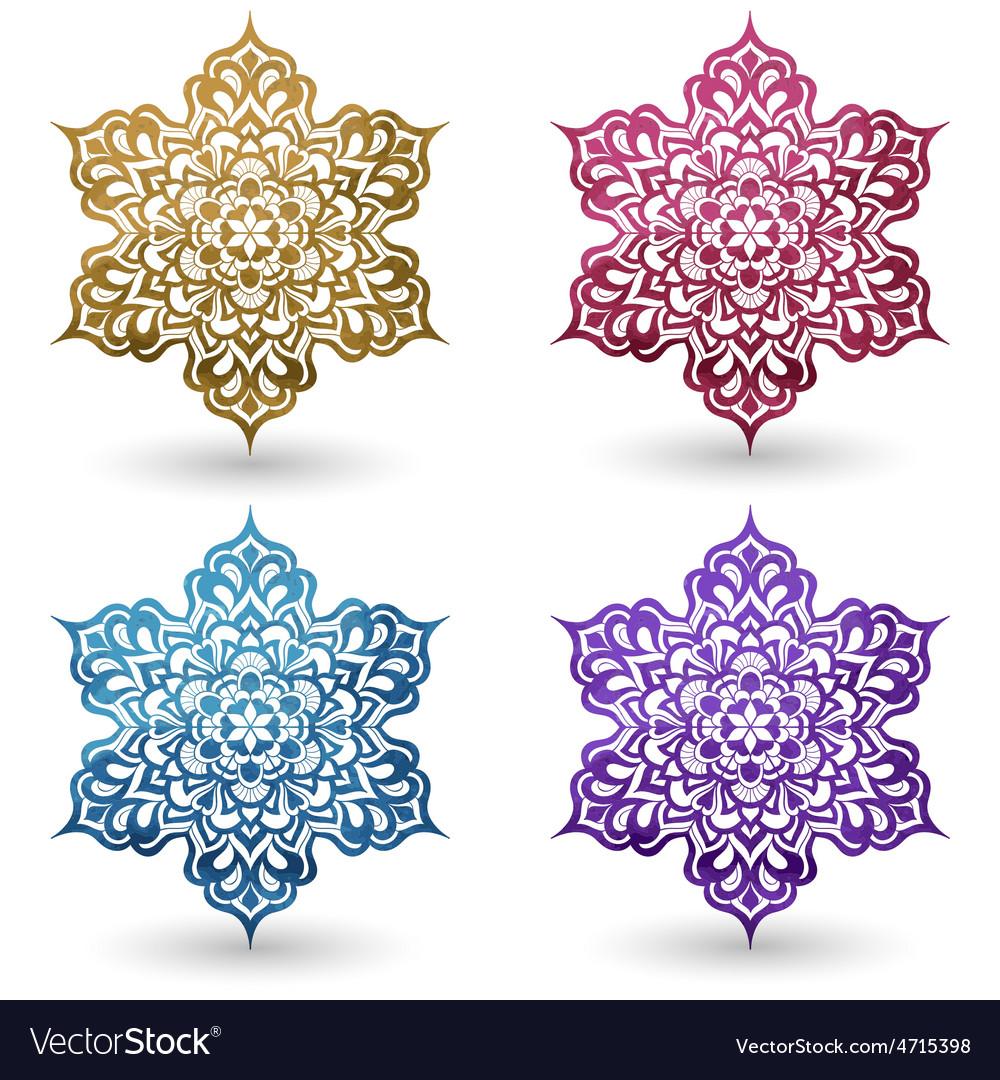 Watercolor design elements vector | Price: 1 Credit (USD $1)