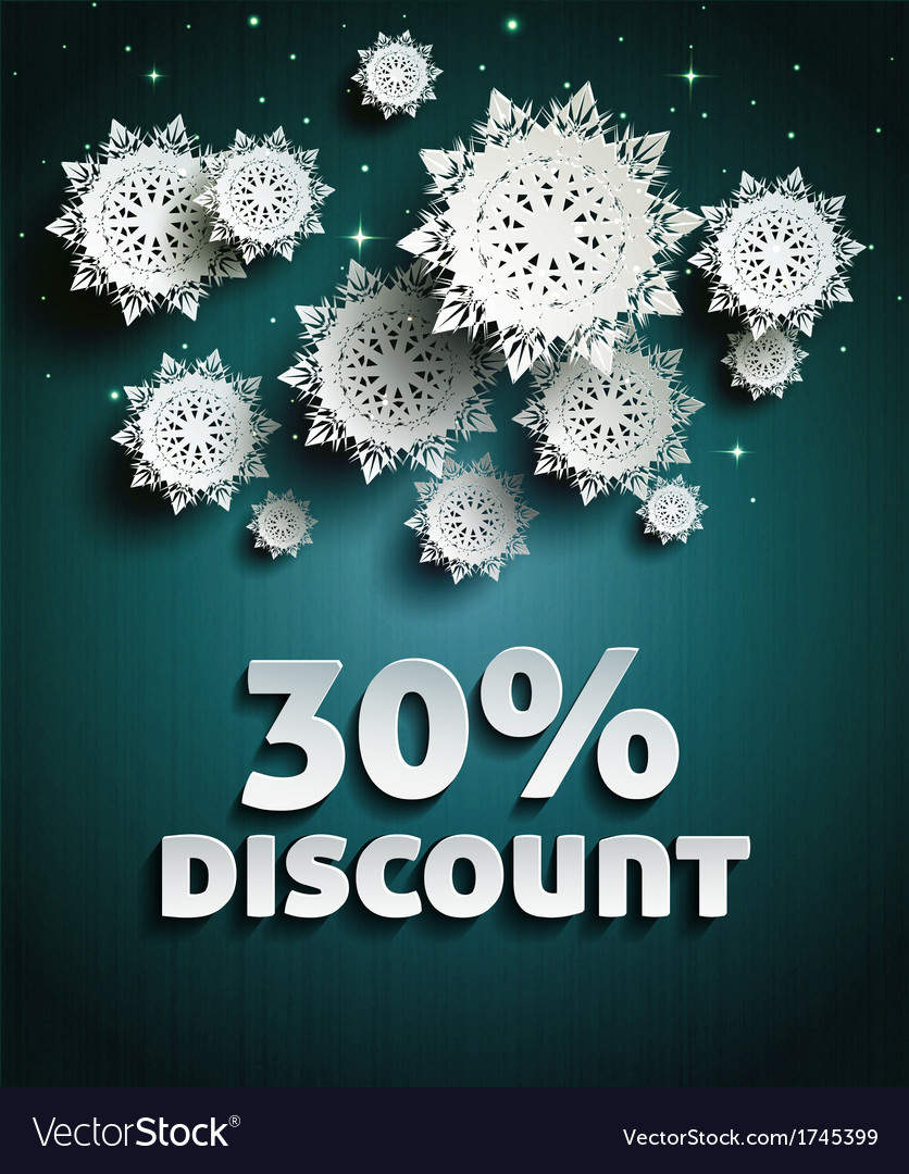 Discount vector | Price: 1 Credit (USD $1)
