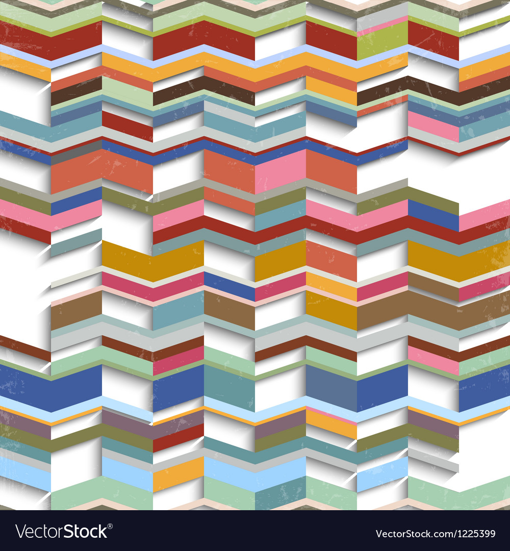 Retro abstract geometric background vector | Price: 1 Credit (USD $1)