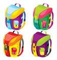 Backpacks vector