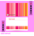 Modern abstract colorful background template vector
