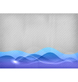 Background blue wave vector