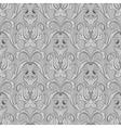 Seamless black white wallpaper pattern vector