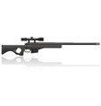 Sniper rifle 02 vector